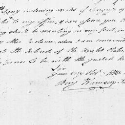 Document, 1779 February 06