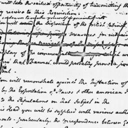 Document, 1785 March 07