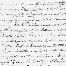 Document, 1779 March 30