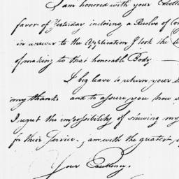 Document, 1779 February 01