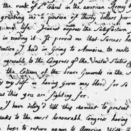 Document, 1779 May 27