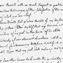 Document, 1779 August 09