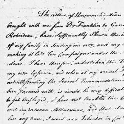 Document, 1779 January 13
