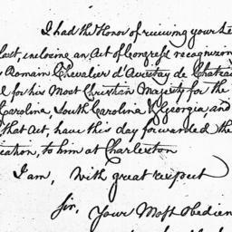 Document, 1785 August 04