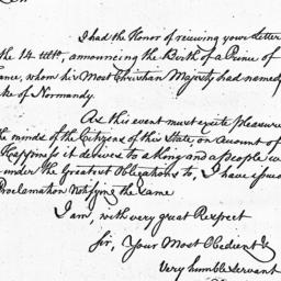 Document, 1785 July 23