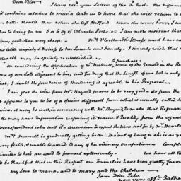 Document, 1825 March 08