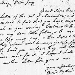 Document, 1783 December 06