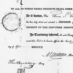 Document, 1810 April 27
