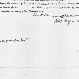 Document, 1819 June 11