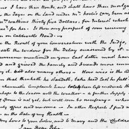 Document, 1818 April 06