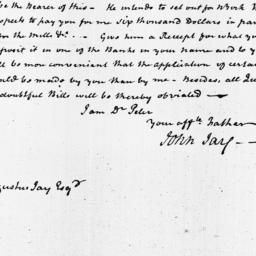 Document, 1818 March 29