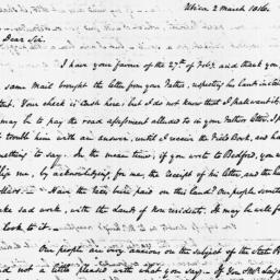 Document, 1816 March 02