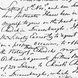 Document, 1811 November 07