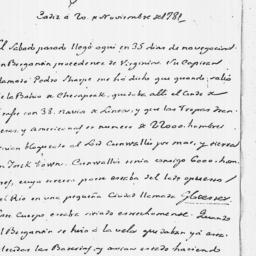Document, 1781 November 27,...