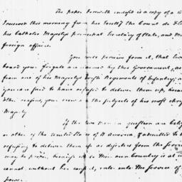 Document, 1781 October 09