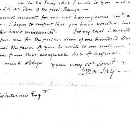 Document, 1816 November 22