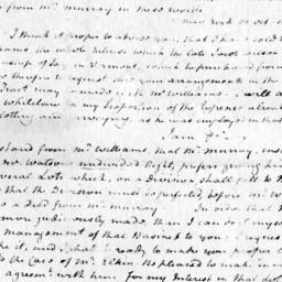 Document, 1806 November 5