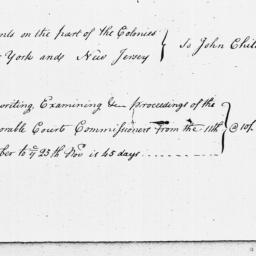 Document, 1769 November 25