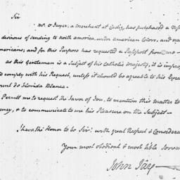 Document, 1782 February 26