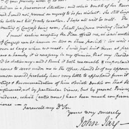 Document, 1784 October 20