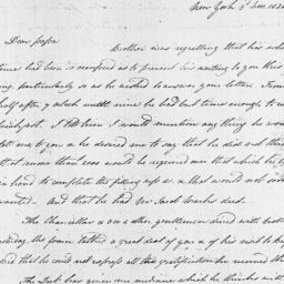 Document, 1820 November 03