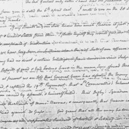 Document, 1781 November n.d.