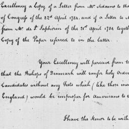 Document, 1785 March 31