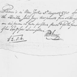 Document, 1790 August 03