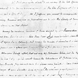 Document, 1777 March 21