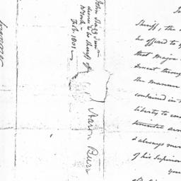 Document, 1801 February 23