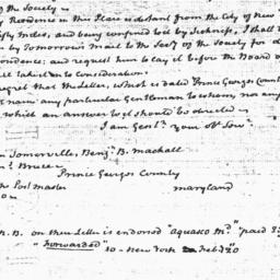 Document, 1824 February 22