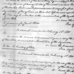 Document, 1801 January 19