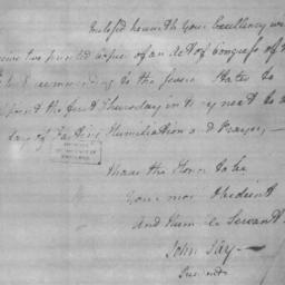 Document, 1779 March 22