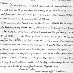 Document, 1823 August 11