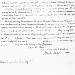 Document, 1819 November 23