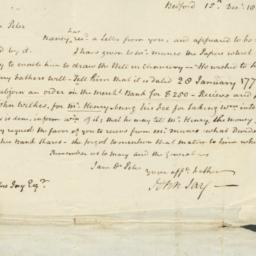 Document, 1807 December 15