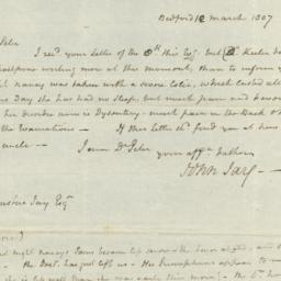 Document, 1807 March 12
