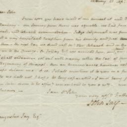 Document, 1806 September 21