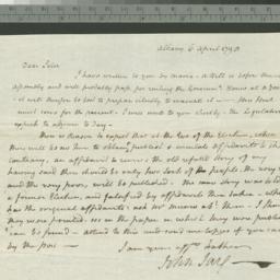 Document, 1798 April 06