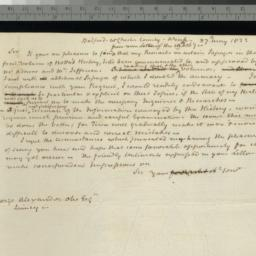 Document, 1822 May 27