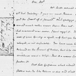 Document, 1779 March 14