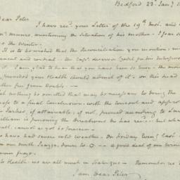 Document, 1810 January 23