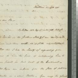 Document, 1795 September 12