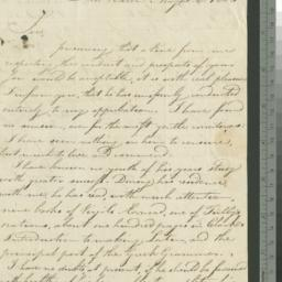 Document, 1803 May 25