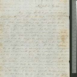 Document, 1823 May 16