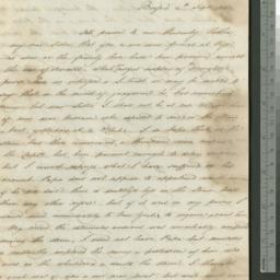 Document, 1821 September 04