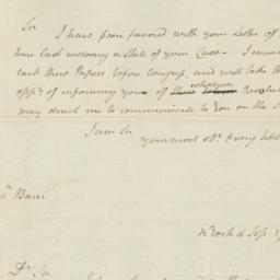 Document, 1785 September 16