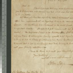 Document, 1783 May 10