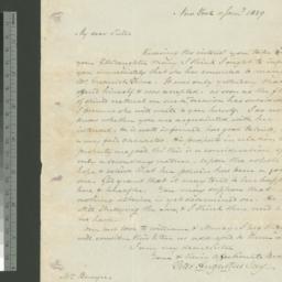Document, 1829 January 11