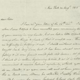 Document, 1816 August 30